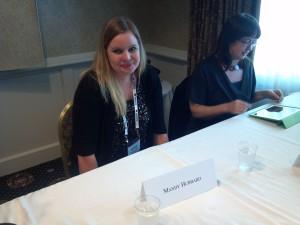 Mandy Hubbard, literary agent